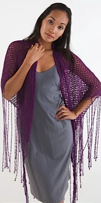 Helen Hamann's Beaded Shawl